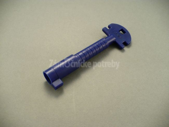 Multifunkčný kľúč modrý plast
