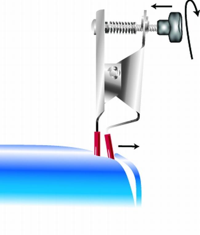 Odchyľovač dverí so závitovým nastavením HPC PW 100