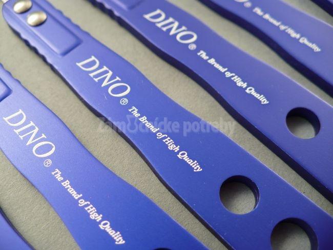 Planžety DINO modrá oceľ