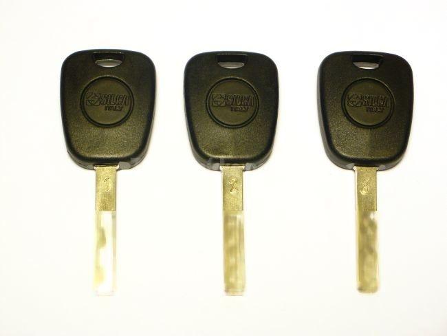 Sada simulačných kľúčov BMW LASEER TRACK KEY
