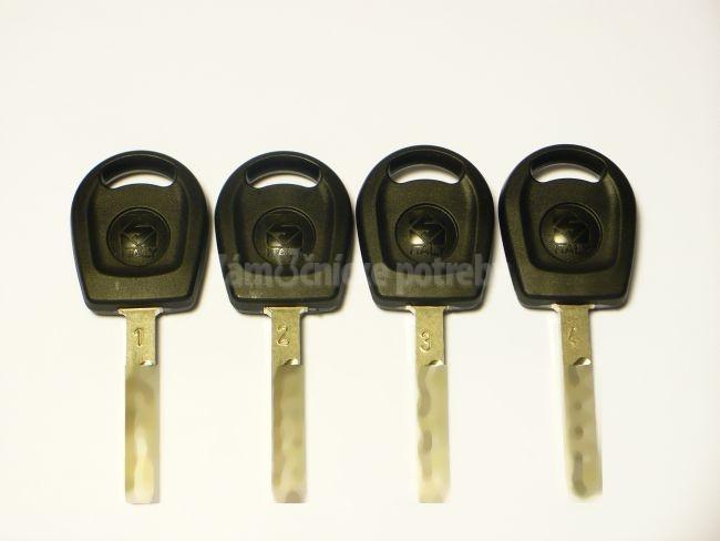 Sada simulačných kľúčov 1,2,3,4 LASEER TRACK KEY